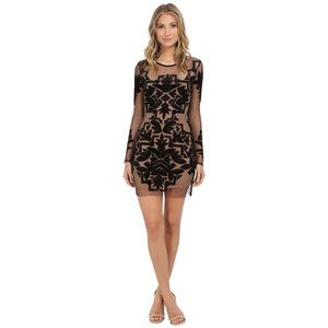 For Love & Lemons Vienna Mini Dress Size S NWT